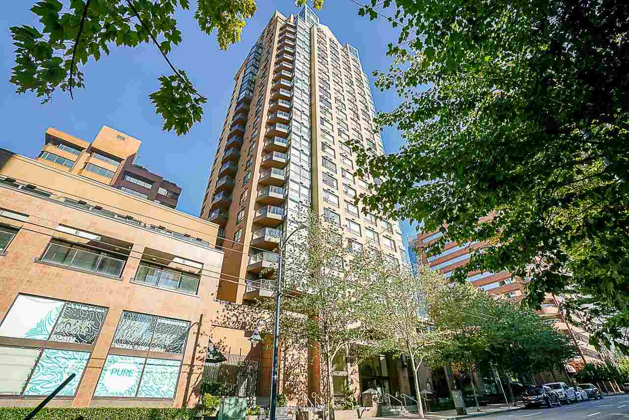 1806 1189 HOWE STREET - Downtown VW Apartment/Condo for sale, 1 Bedroom (R2577979)