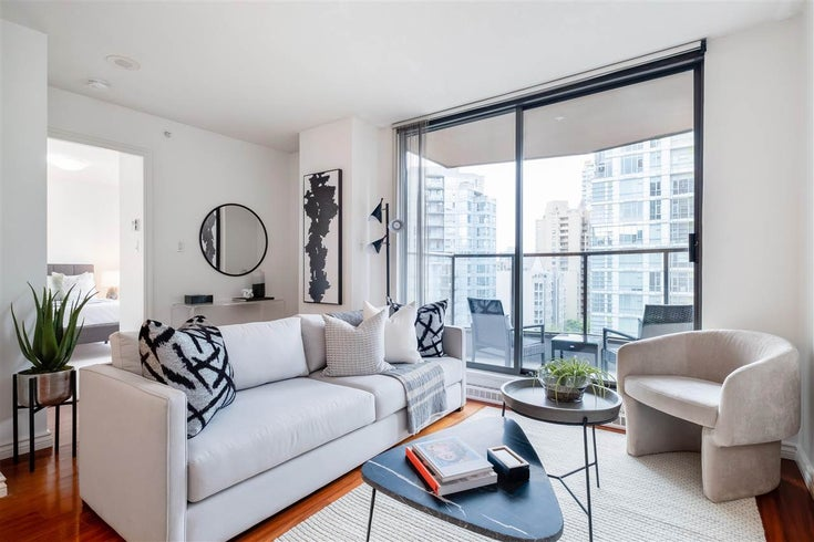 1007 1189 HOWE STREET - Downtown VW Apartment/Condo for sale, 1 Bedroom (R2577994)