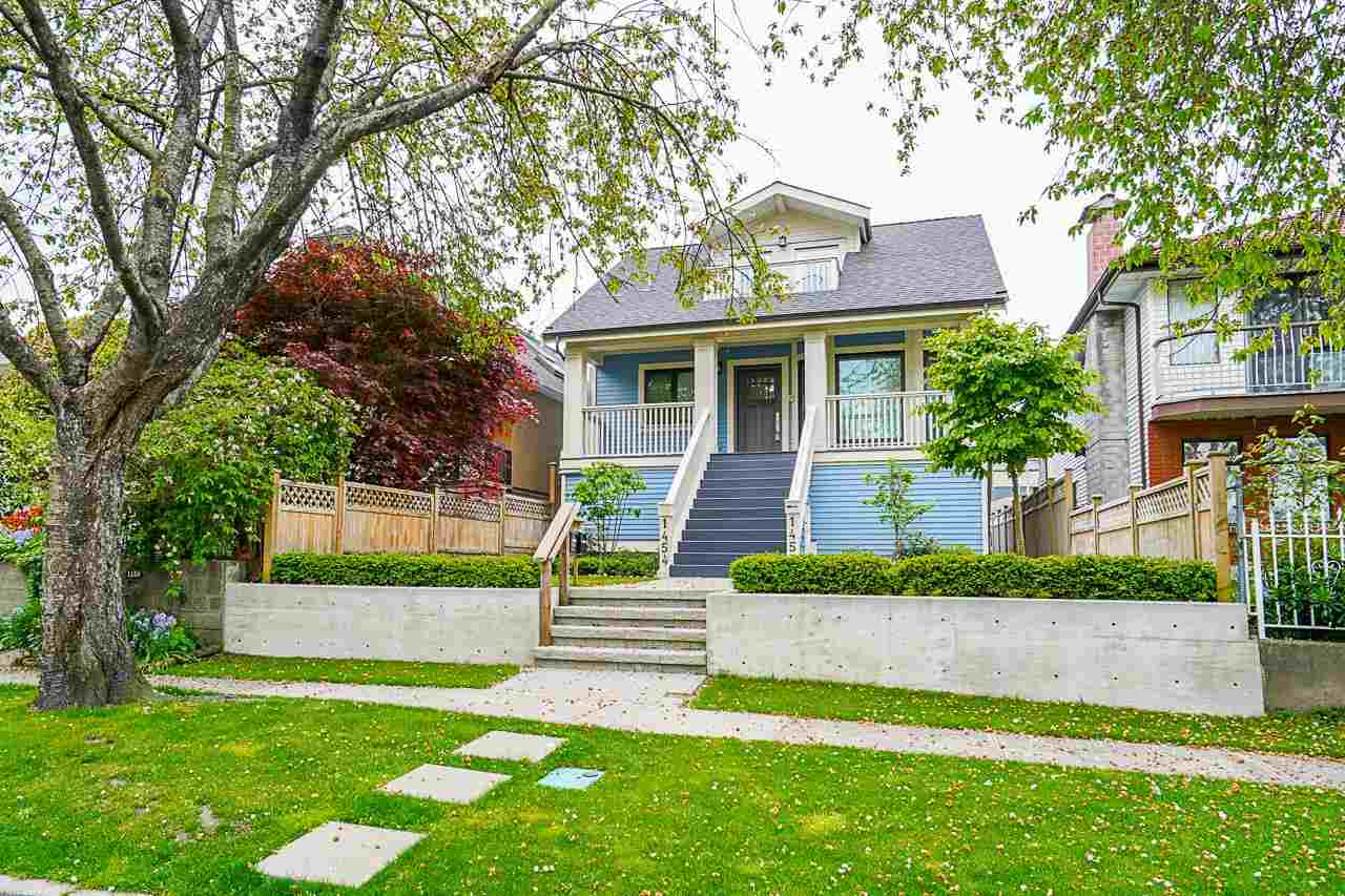 1454 E 20TH AVENUE - Knight 1/2 Duplex for sale, 3 Bedrooms (R2578069)