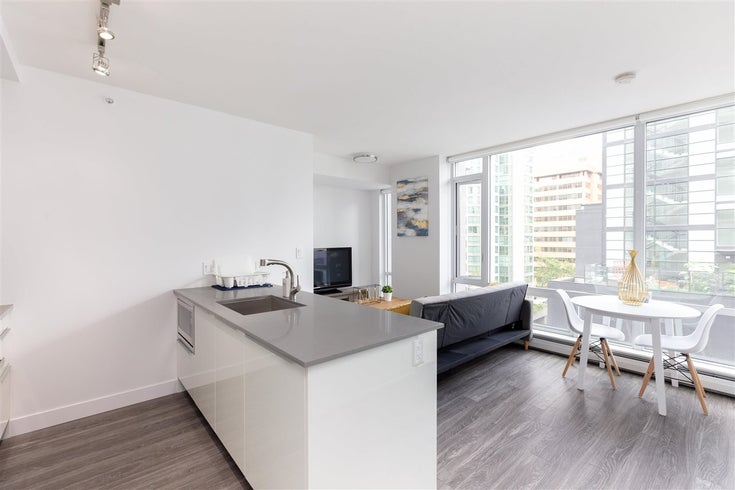 1003 1283 HOWE STREET - Downtown VW Apartment/Condo for sale, 1 Bedroom (R2578162)
