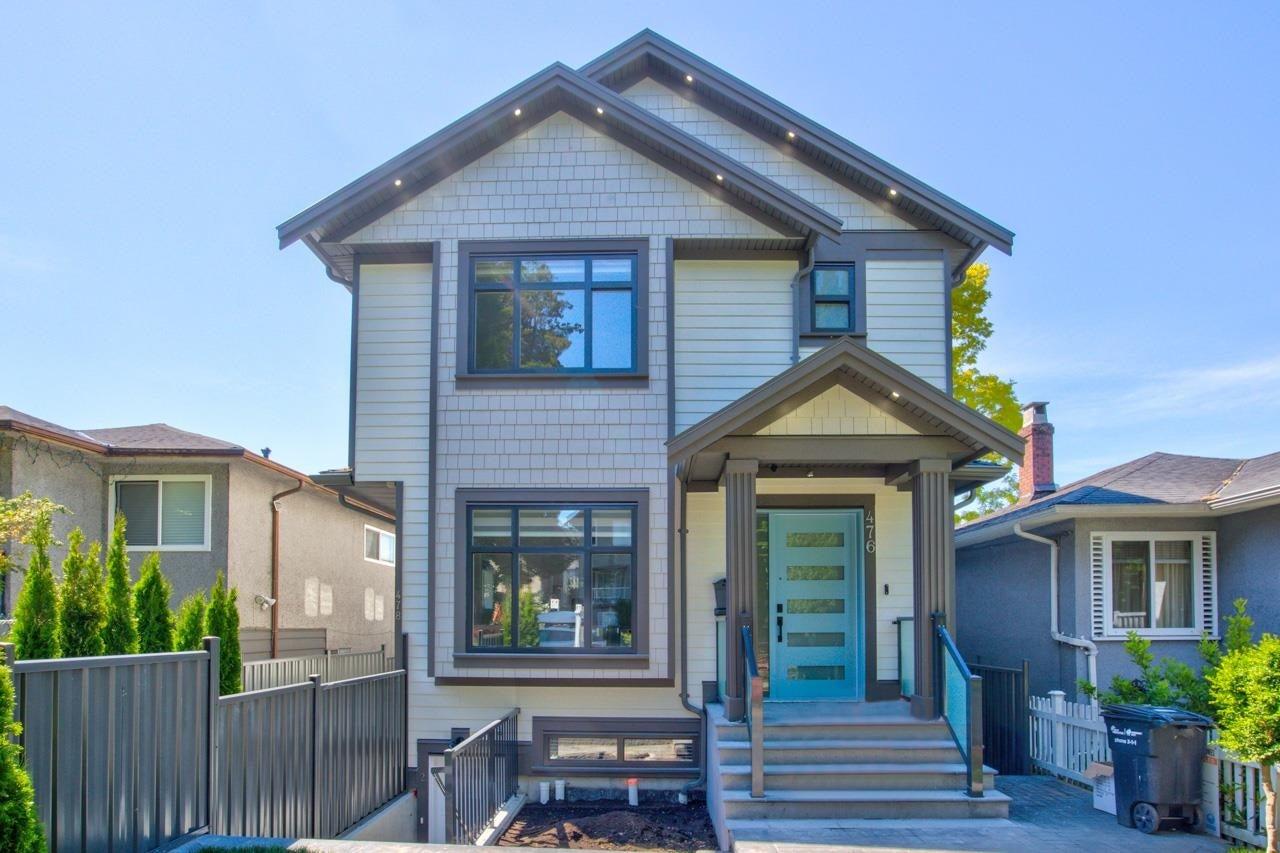 476 E 49TH AVENUE - South Vancouver 1/2 Duplex for sale, 5 Bedrooms (R2578342)