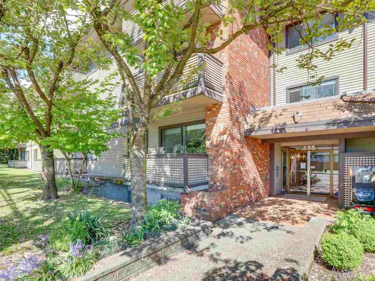 302 535 BLUE MOUNTAIN STREET - Central Coquitlam Apartment/Condo for sale, 1 Bedroom (R2578388)