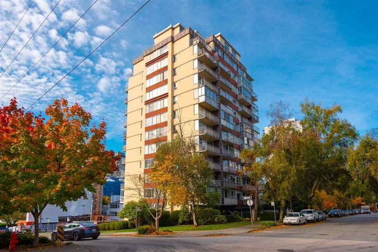 701 1100 HARWOOD STREET - West End VW Apartment/Condo for sale(R2578508)