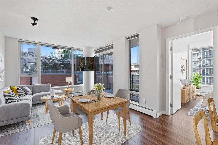 708 688 ABBOTT STREET - Downtown VW Apartment/Condo for sale, 1 Bedroom (R2578643)
