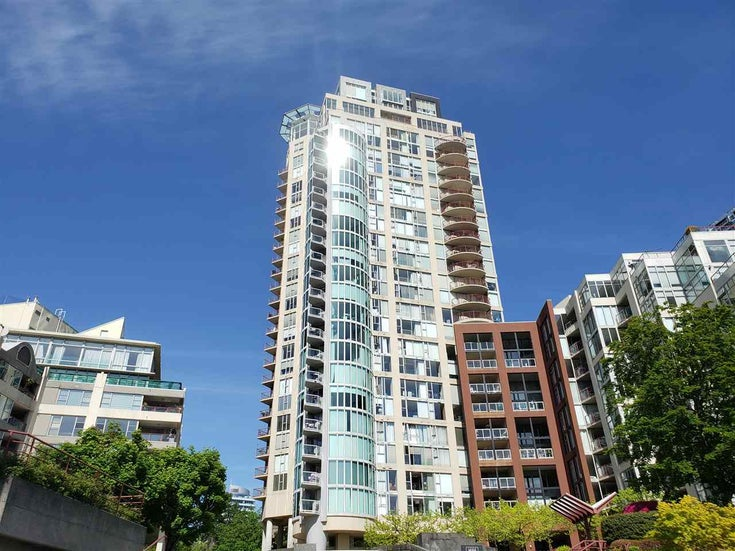 1105 1000 BEACH AVENUE - Yaletown Apartment/Condo for sale, 2 Bedrooms (R2578775)