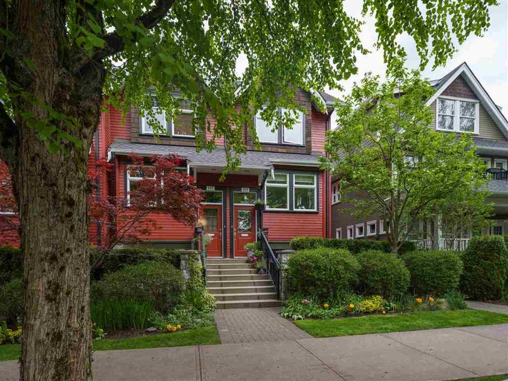519 E 7TH AVENUE - Mount Pleasant VE Townhouse for sale, 2 Bedrooms (R2578824)
