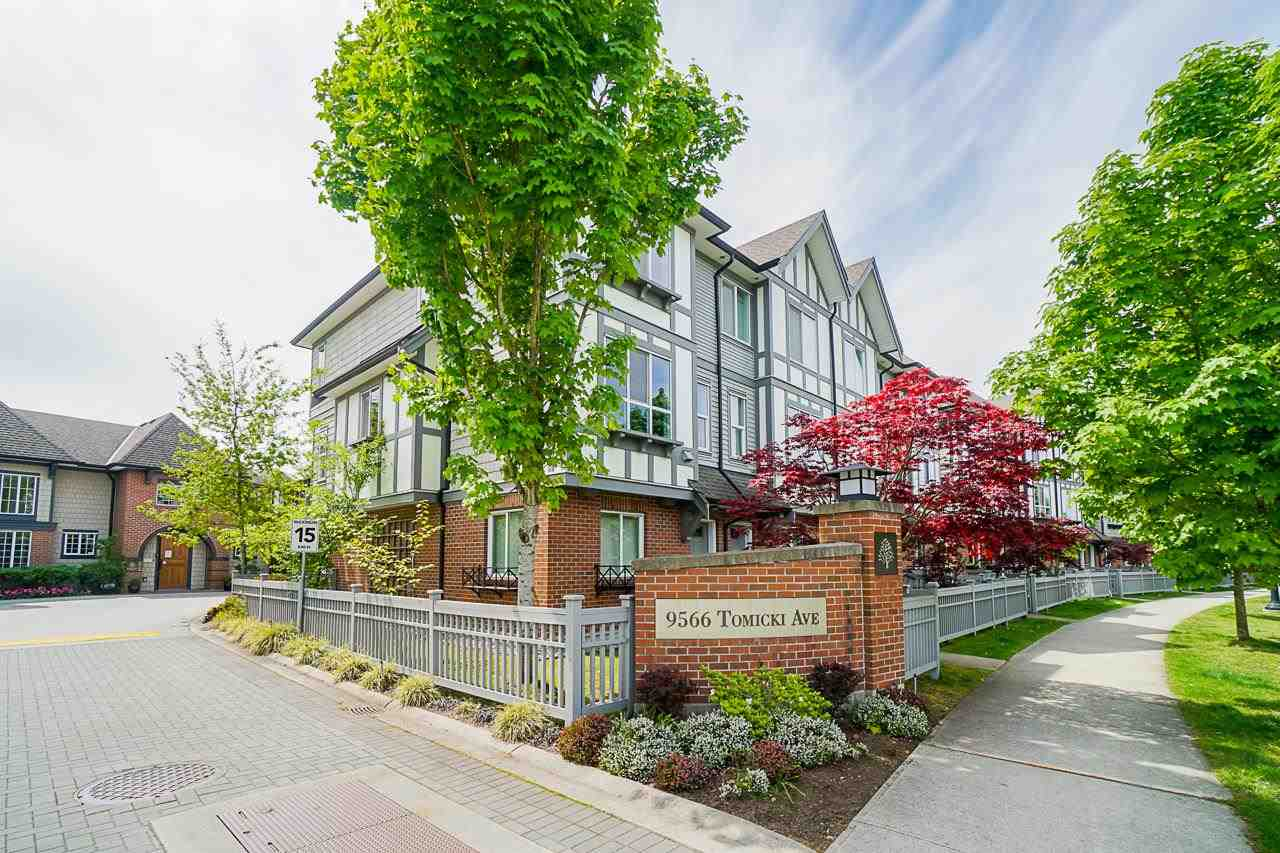 1 9566 TOMICKI AVENUE - West Cambie Townhouse for sale, 3 Bedrooms (R2578875)