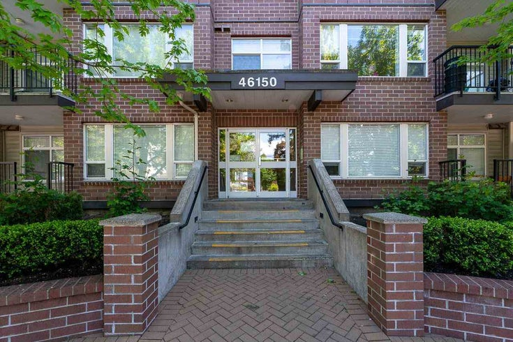 110 46150 BOLE AVENUE - Chilliwack N Yale-Well Apartment/Condo for sale, 1 Bedroom (R2578908)