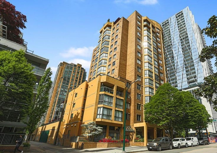 316 488 HELMCKEN STREET - Yaletown Apartment/Condo for sale, 1 Bedroom (R2579117)