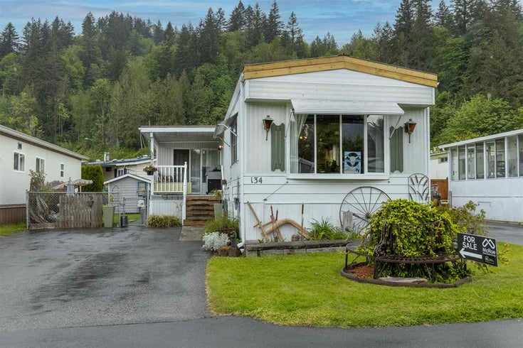 134 46511 CHILLIWACK LAKE ROAD - Chilliwack River Valley Manufactured with Land for sale, 2 Bedrooms (R2579229)