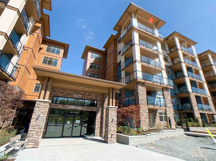 523 20673 78 AVENUE - Willoughby Heights Apartment/Condo for sale, 1 Bedroom (R2579256)