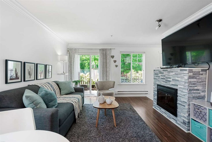 1 4025 NORFOLK STREET - Central BN Townhouse for sale, 2 Bedrooms (R2579313)