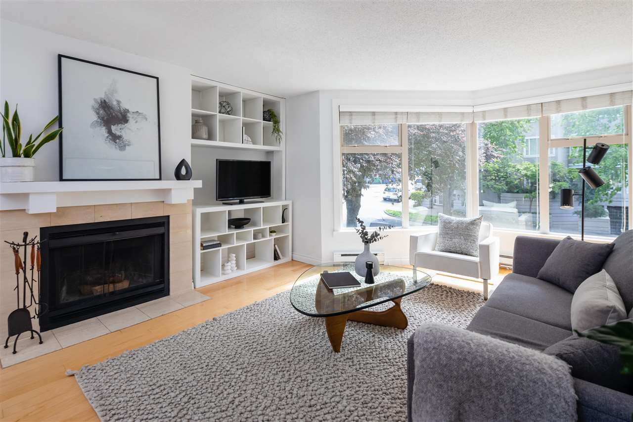 101 1279 NICOLA STREET - West End VW Apartment/Condo for sale, 2 Bedrooms (R2579324)