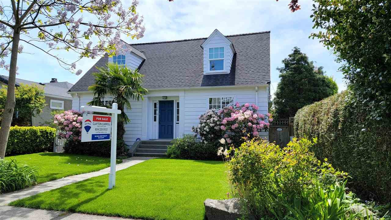 1706 W 58TH AVENUE - South Granville House/Single Family for sale, 4 Bedrooms (R2579407)
