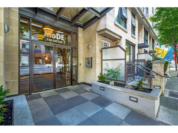 301 538 SMITHE STREET - Downtown VW Apartment/Condo for sale, 1 Bedroom (R2579808)