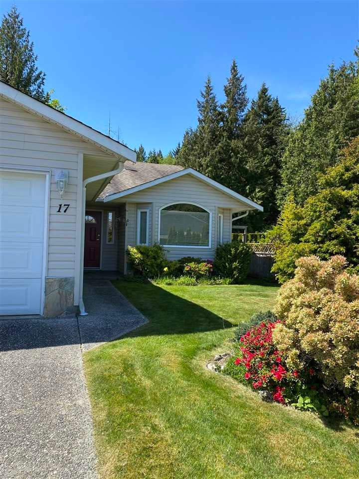 17 535 SHAW ROAD - Gibsons & Area 1/2 Duplex for sale, 2 Bedrooms (R2579843)
