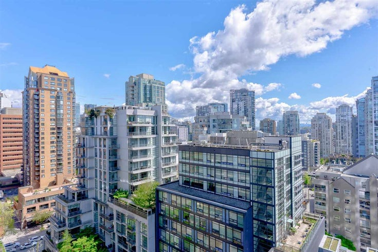 1402 1252 HORNBY STREET - Downtown VW Apartment/Condo for sale, 1 Bedroom (R2579899)