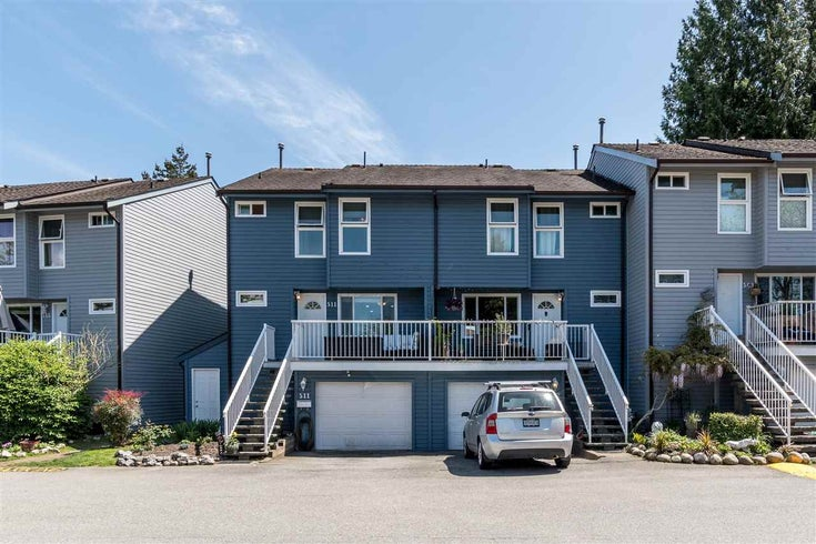 511 LEHMAN PLACE - North Shore Pt Moody Townhouse for sale, 3 Bedrooms (R2580138)