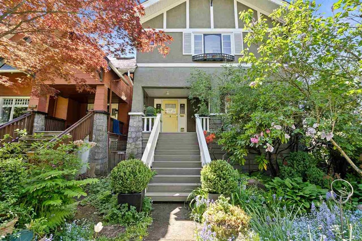 2627 BALACLAVA STREET - Kitsilano House/Single Family for sale, 4 Bedrooms (R2580159)