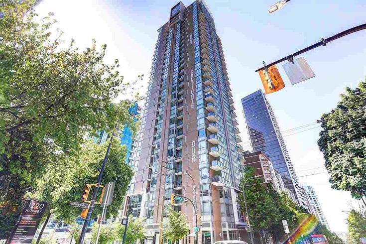 1602 1308 HORNBY STREET - Downtown VW Apartment/Condo for sale, 1 Bedroom (R2580281)