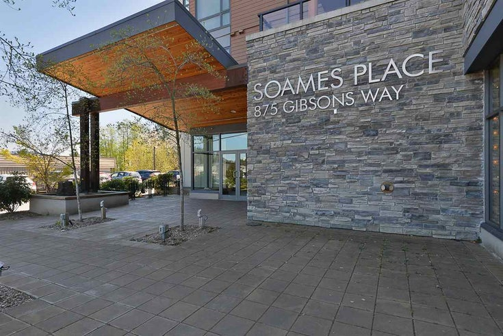 402 875 GIBSONS WAY - Gibsons & Area Apartment/Condo for sale, 2 Bedrooms (R2580383)