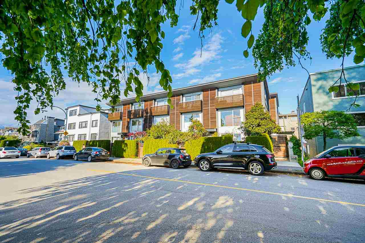 1462 ARBUTUS STREET - Kitsilano Townhouse for sale, 3 Bedrooms (R2580636)