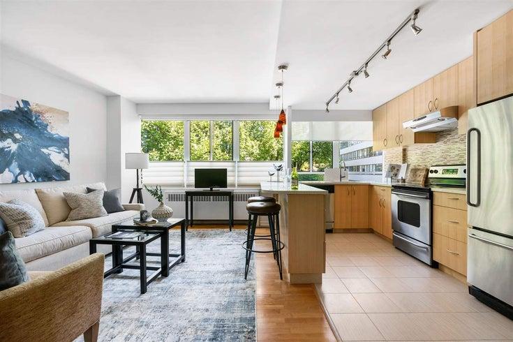 123 1445 MARPOLE AVENUE - Fairview VW Apartment/Condo for sale, 2 Bedrooms (R2580832)