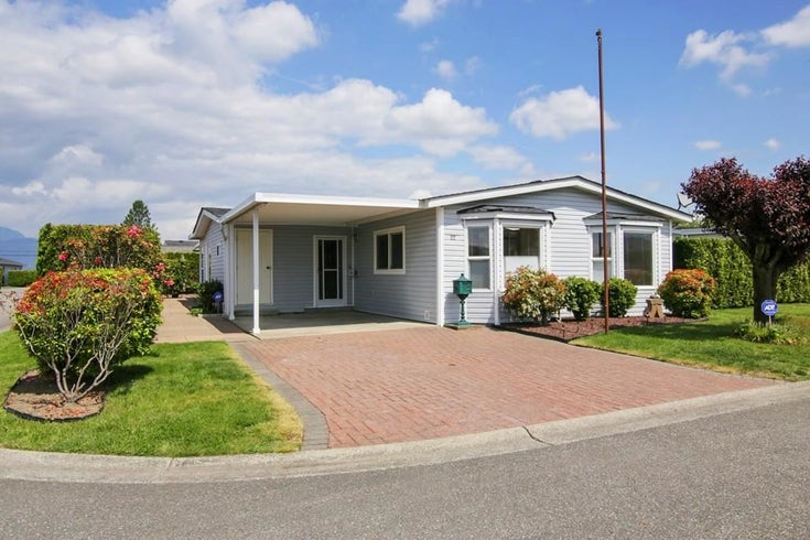 22 45918 KNIGHT ROAD - Sardis East Vedder Rd Manufactured for sale, 2 Bedrooms (R2580866)