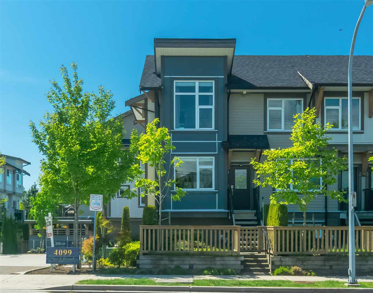 1 4099 NO. 4 ROAD - West Cambie Townhouse for sale, 3 Bedrooms (R2580967)