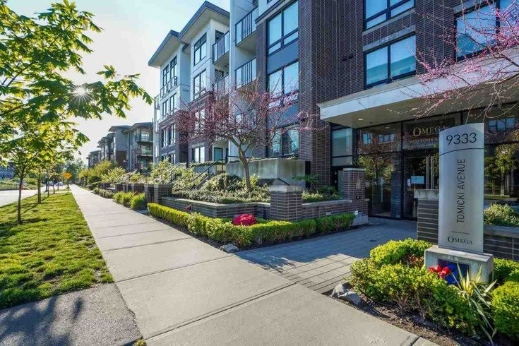 311 9333 TOMICKI AVENUE - West Cambie Apartment/Condo for sale, 2 Bedrooms (R2581199)