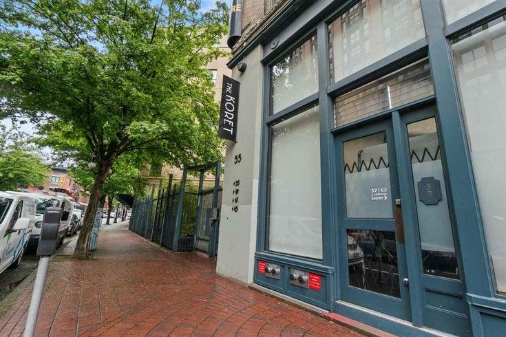 208 55 E CORDOVA STREET - Downtown VE Apartment/Condo for sale, 1 Bedroom (R2581237)