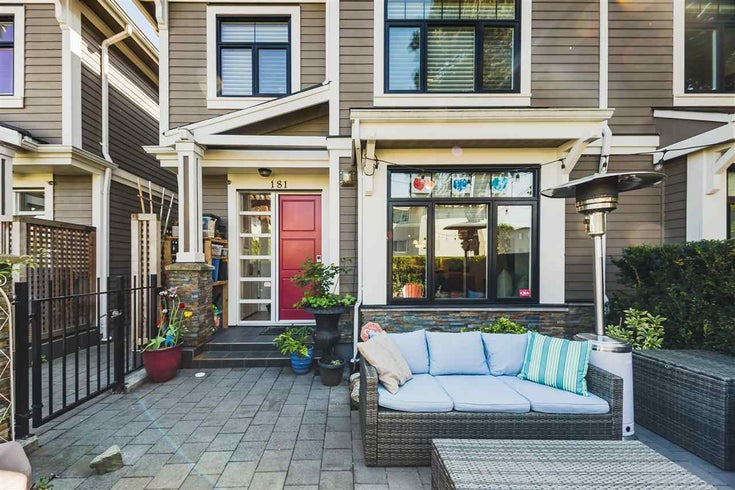 181 E 17TH AVENUE - Main Townhouse for sale, 2 Bedrooms (R2581428)