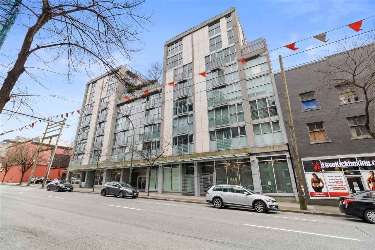 711 168 POWELL STREET - Downtown VE Apartment/Condo for sale, 1 Bedroom (R2581596) - #1