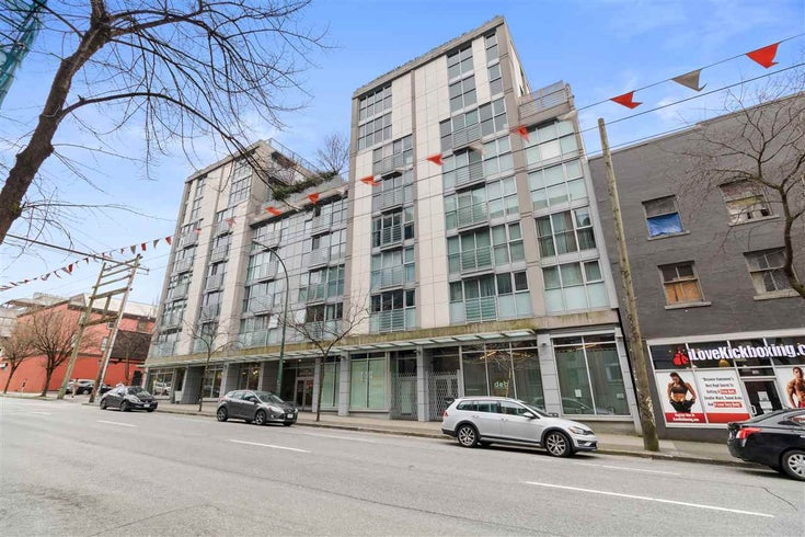 711 168 POWELL STREET - Downtown VE Apartment/Condo for sale, 1 Bedroom (R2581596)