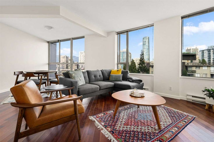 1203 1277 NELSON STREET - West End VW Apartment/Condo for sale, 2 Bedrooms (R2581607)