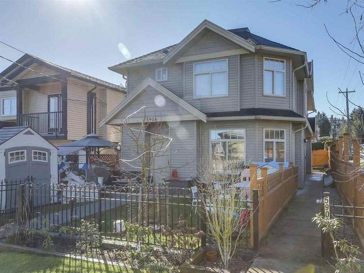 5908 WOODSWORTH STREET - Central BN 1/2 Duplex for sale, 3 Bedrooms (R2582190)