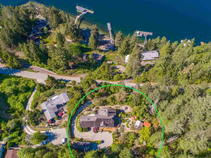 4190 FRANCIS PENINSULA ROAD - Pender Harbour Egmont House with Acreage for sale, 3 Bedrooms (R2582230)