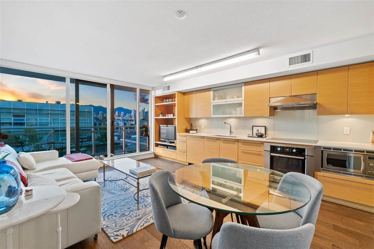 513 1635 W 3RD AVENUE - False Creek Apartment/Condo for sale, 1 Bedroom (R2582335)