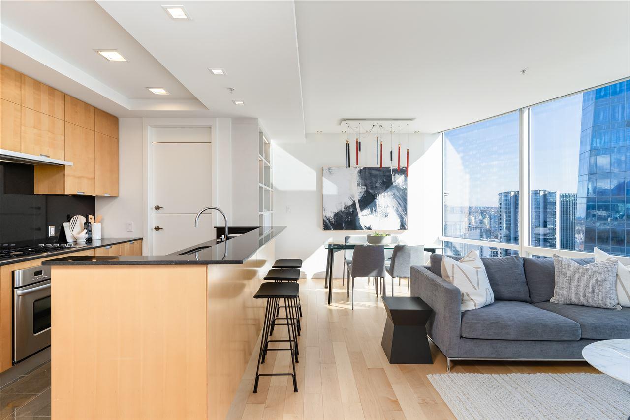 3406 1077 W CORDOVA STREET - Coal Harbour Apartment/Condo for sale, 1 Bedroom (R2582378) - #1