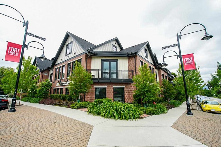 208 23189 FRANCIS AVENUE - Fort Langley Apartment/Condo for sale, 2 Bedrooms (R2582484)