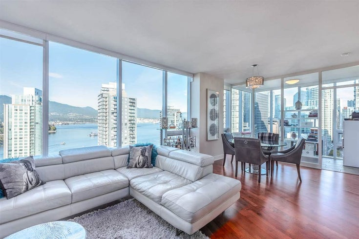 2202 1277 MELVILLE STREET - Coal Harbour Apartment/Condo for sale, 2 Bedrooms (R2582852)