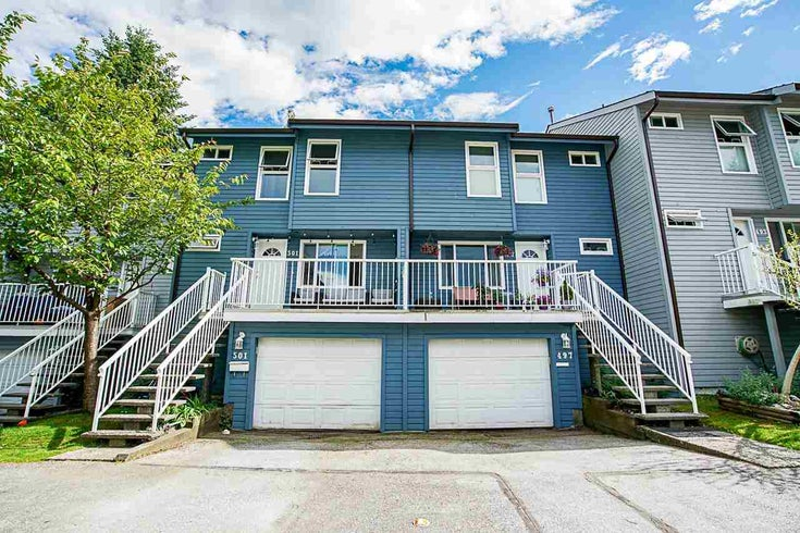 501 CARLSEN PLACE - North Shore Pt Moody Townhouse for sale, 3 Bedrooms (R2583157)