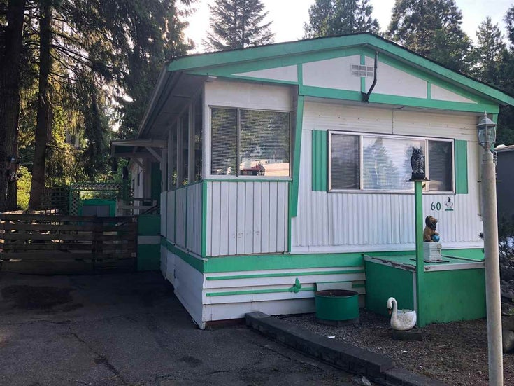 60 21163 W LOUGHEED HIGHWAY - Southwest Maple Ridge Manufactured for sale, 2 Bedrooms (R2583446)
