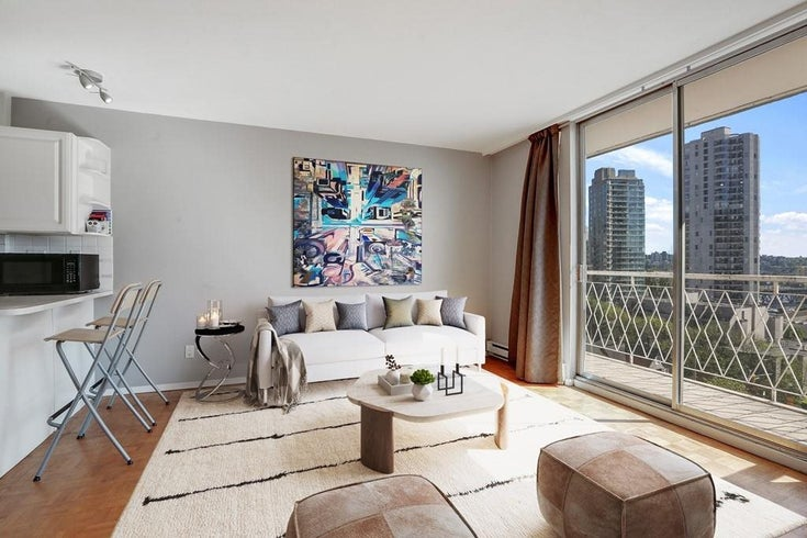 708 1100 HARWOOD STREET - West End VW Apartment/Condo for sale(R2583773)