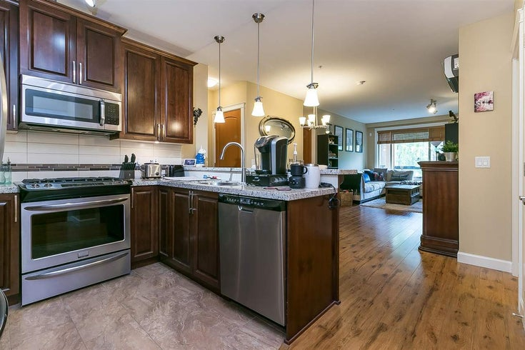 302 8067 207 STREET - Willoughby Heights Apartment/Condo for sale, 2 Bedrooms (R2583825)