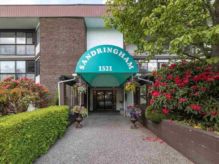 105 1521 BLACKWOOD STREET - White Rock Apartment/Condo for sale, 2 Bedrooms (R2583925)