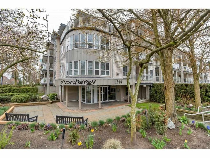 216 1588 BEST STREET - White Rock Apartment/Condo for sale, 2 Bedrooms (R2585440)