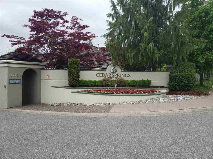 42 4001 OLD CLAYBURN ROAD - Abbotsford East Townhouse for sale, 2 Bedrooms (R2585498)