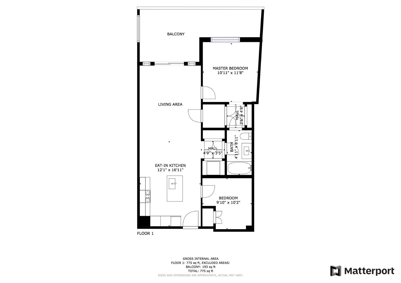 201 522 15TH STREET - Ambleside Apartment/Condo for sale, 1 Bedroom (R2585639) - #17