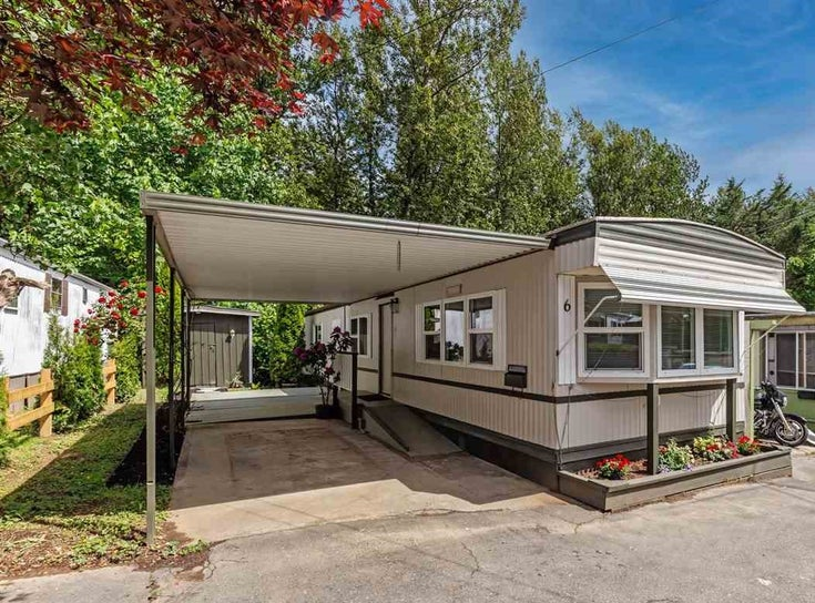 6 32380 LOUGHEED HIGHWAY - Mission BC Manufactured for sale, 2 Bedrooms (R2586007)